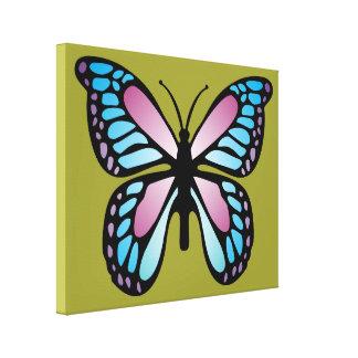 Vivid Butterfly Canvas Prints