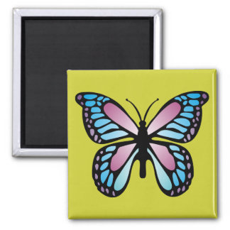 Vivid Butterfly Magnet