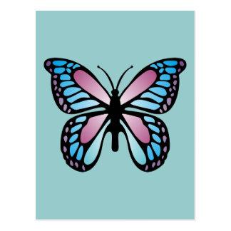 Vivid Butterfly Postcard