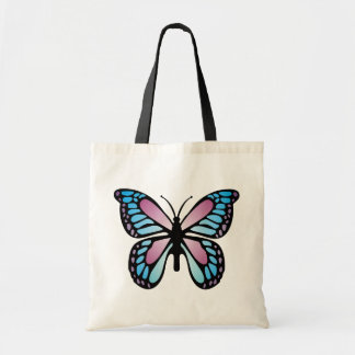 Vivid Butterfly Tote Bag