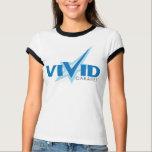 Vivid Cabaret Ladies Ringer T-Shirt