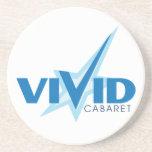 Vivid Cabaret Sandstone Coasters