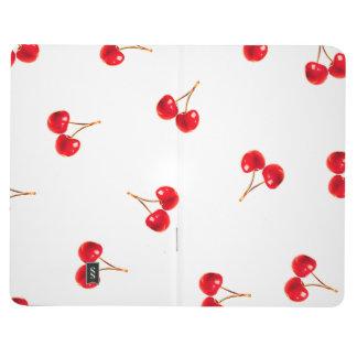 Vivid Cherry Pattern Journal