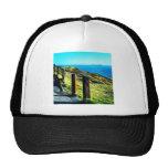 Vivid coastline trucker hat