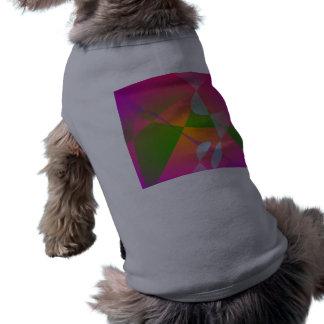 Vivid Color Digital Abstract Painting Dog Shirt