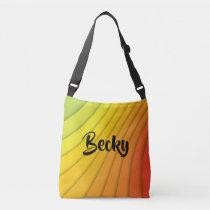 Vivid Color Stylish Stripes Tote Bag