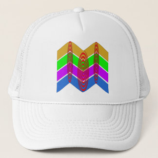 Vivid Colors and Swirls Trucker Hat