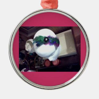 Vivid Colors Fascinator Ornament