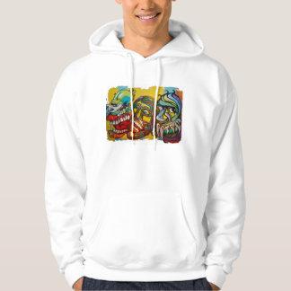 Vivid Colors Graffiti Hoodie