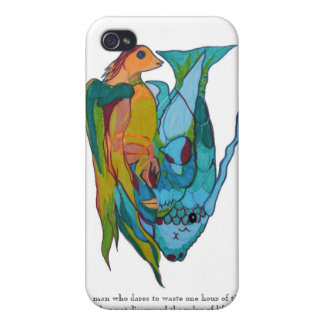 Vivid Colors My Religion Darwin iPhone Case Cover For iPhone 4