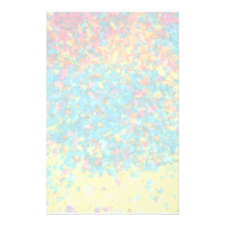 Vivid colours abstract stationery