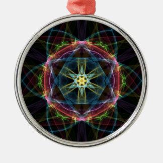 Vivid Composition Metal Ornament