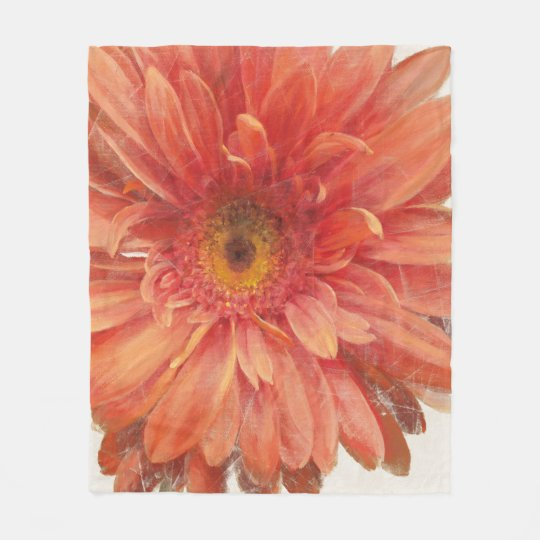 Vivid Daisy Fleece Blanket Zazzle Com