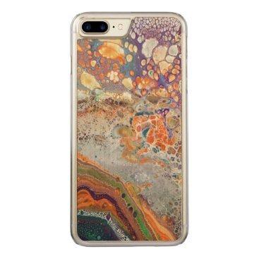 Beach Themed Vivid Dreams Abstract Art Phone Case