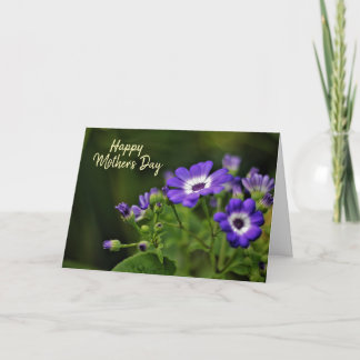Vivid Floral Mother's Day Card