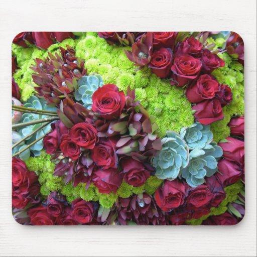 Vivid Floral Mousepad