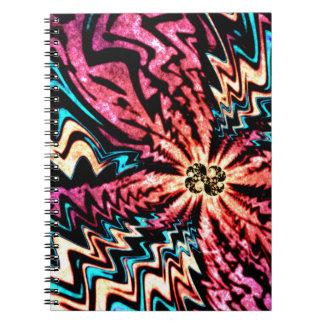 Vivid Fractal Notebook