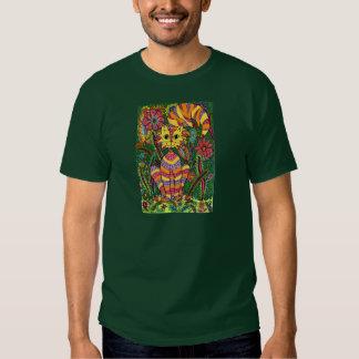 Vivid Garden Cat 2 Tee Shirt