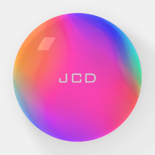 Vivid Holographic Personalized Paperweight