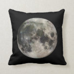 Vivid Image of the Moon Pillow