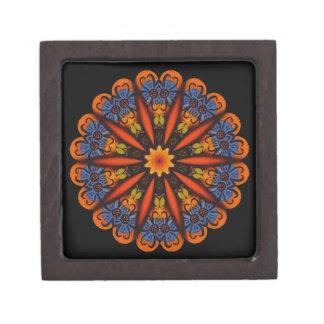 Vivid Kaleidoscope Gift Box or Jewelry Box Premium Trinket Box