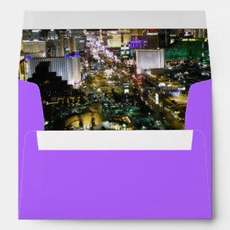 Vivid Las Vegas Boulevard Aerial View Design Envelope