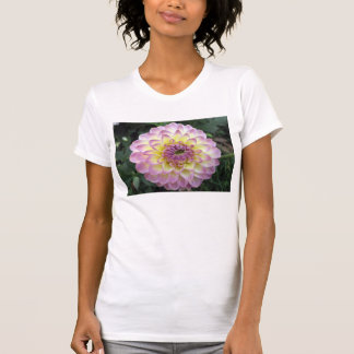 Vivid Lavender Creme Dahlia T-Shirt