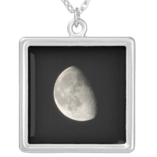 Vivid Luna by KLM Silver Plated Necklace