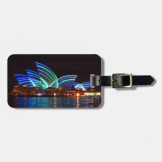 vivid opera houses tag for luggage