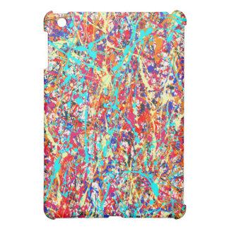 Vivid Paint Splatter Abstract iPad Mini Case