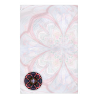 Vivid Petals Abstract - Stationery