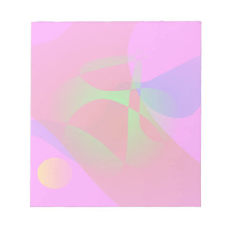Vivid Pink Contrast Notepads