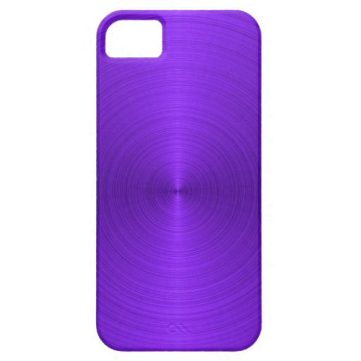 Vivid Purple Metallic iPhone 5 Covers