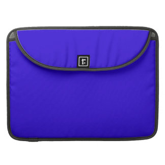VIVID SAPPHIRE BLUE (solid color) ~ Sleeve For MacBook Pro
