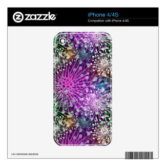 Vivid Spotty Pattern iPhone 4 Decals