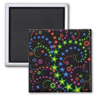 vivid star composition refrigerator magnets