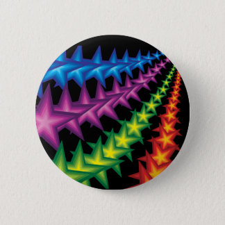 vivid star stripes button