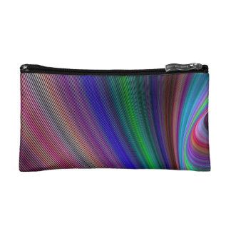 Vivid storm cosmetic bag