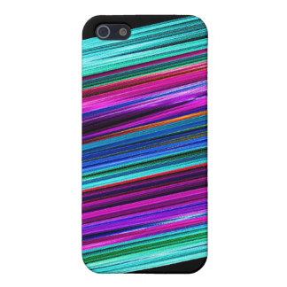 Vivid Stripes Fractal Case For iPhone SE/5/5s