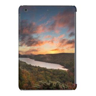 Vivid Sunrise Over Lake Of The Clouds In Autumn iPad Mini Cover