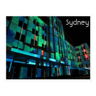 vivid sydney mca green postcard
