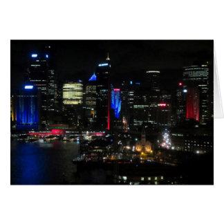 vivid sydney night card
