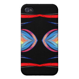 Vivid Unusual Rainbow Spectrum Colors iPhone Cases iPhone 4/4S Cover