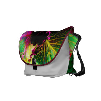 """Vivid Vegan"" Fine Art Messenger Bag"