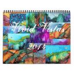 Vivid Vistas 2014 Wall Calendar