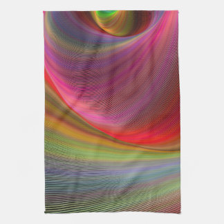 Vivid vortex towel