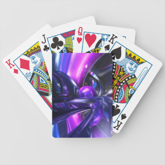 Vivid Waves Abstract Deck Of Cards