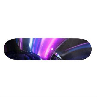 Vivid Waves Abstract Skateboard V3