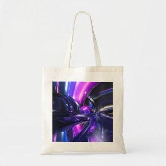 Vivid Waves Abstract Tote Bag
