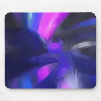 Vivid Waves Pastel Abstract Mouse Pad